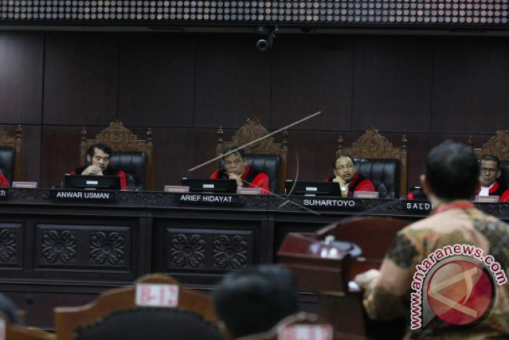 MK Mengabulkan Pencabutan Permohonan Uji Perppu Ormas