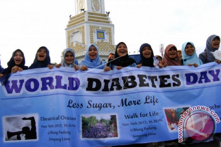 Gaya Hidup Sehat Cegah Diabetes