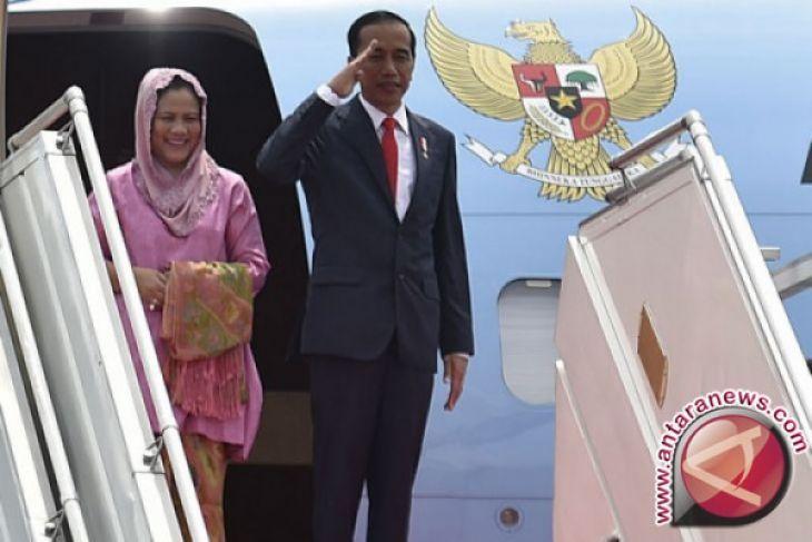 Presiden Jokowi Transit di Bandara Abu Dhabi