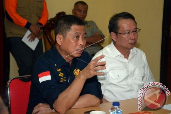 Menteri ESDM Rapat di Posko Rendang