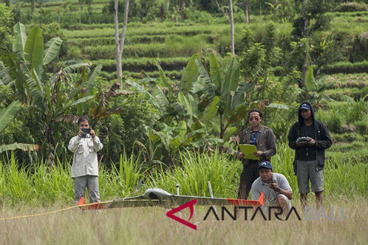 Drone PVMBG hilang di Gunung Agung