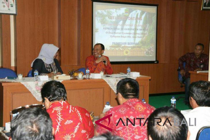Belasan Perbekel Bangli lakukan 'studi tiru' ke Bekasi