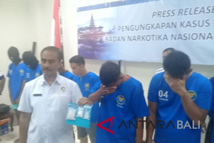BNNP Bali tangkap lima pengedar jaringan LP Kerobokan