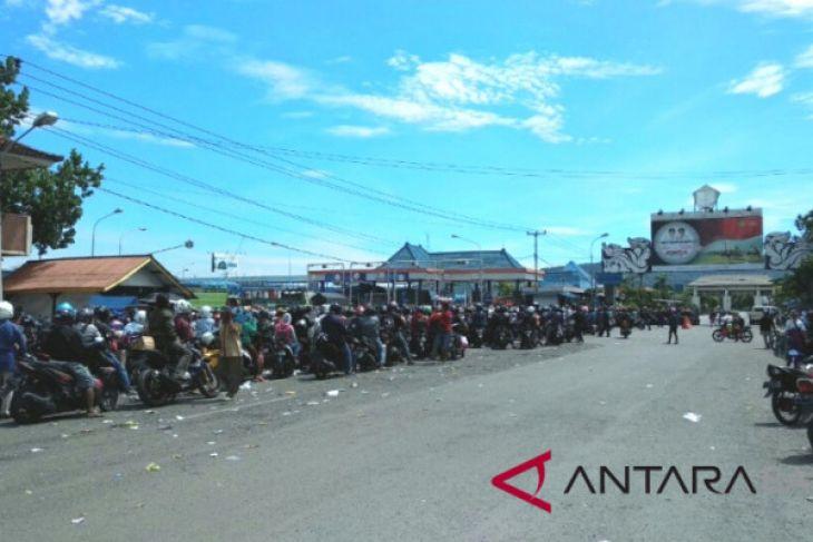 Jelang Nyepi, ribuan kendaraan tinggalkan Bali