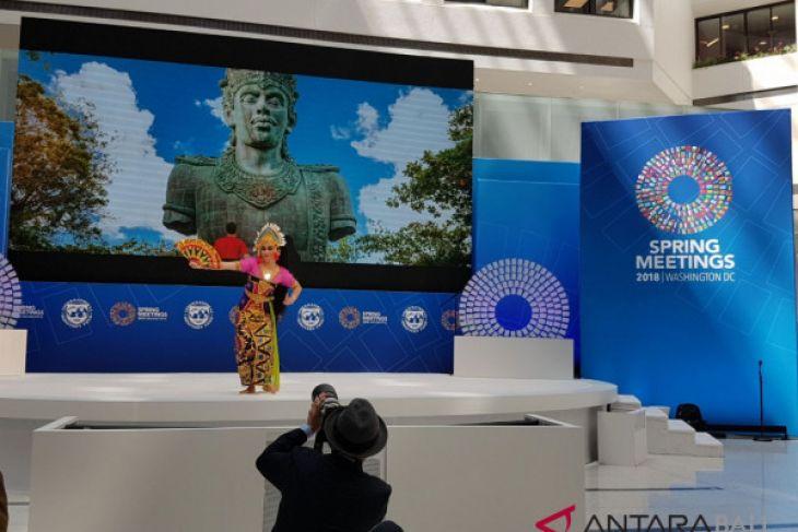 Pertemuan pendahuluan IMF-Bank Dunia, Tari Bali tampil di AS