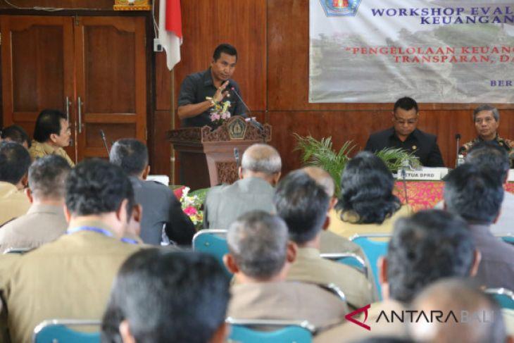 Pjs Bupati Klungkung tinjau proyek infrastruktur