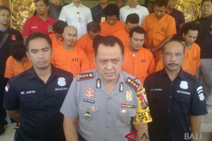 Meningkat, tindak kejahatan di Polresta Denpasar