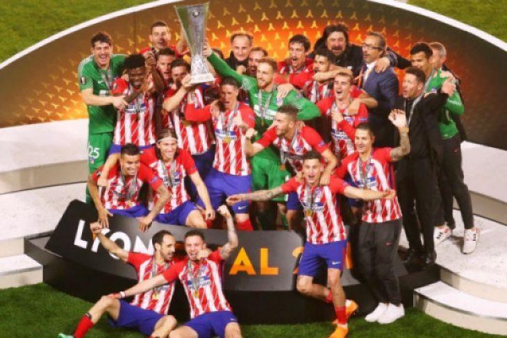 Atletico Madrid juara Liga Europa 2018