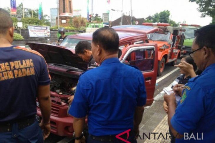 Dua pemudik selamat dari kecelakaan di Jembrana