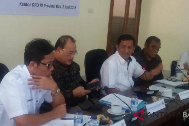 Di Bali, DPD cari masukan aktualisasi wewenang evaluasi perda
