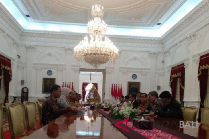 Komisioner KPU temui Presiden Jokowi