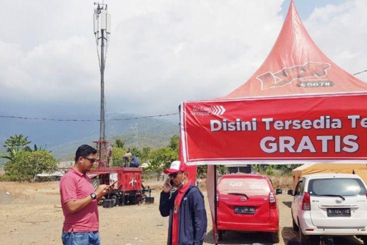 Pulihkan Jaringan, Telkomsel Berikan Telpon Gratis Bagi Korban Gempa Lombok