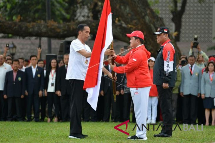 Presiden melepas Kontingen Asian Games