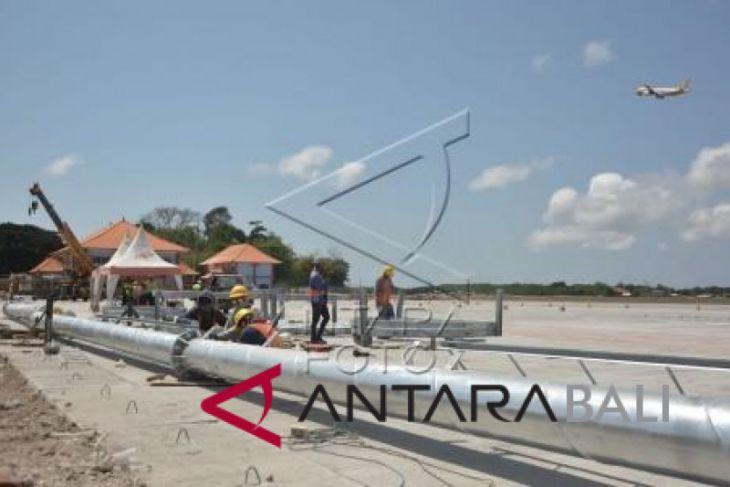 Foto - Perluasan Apron Bandara Ngurah Rai