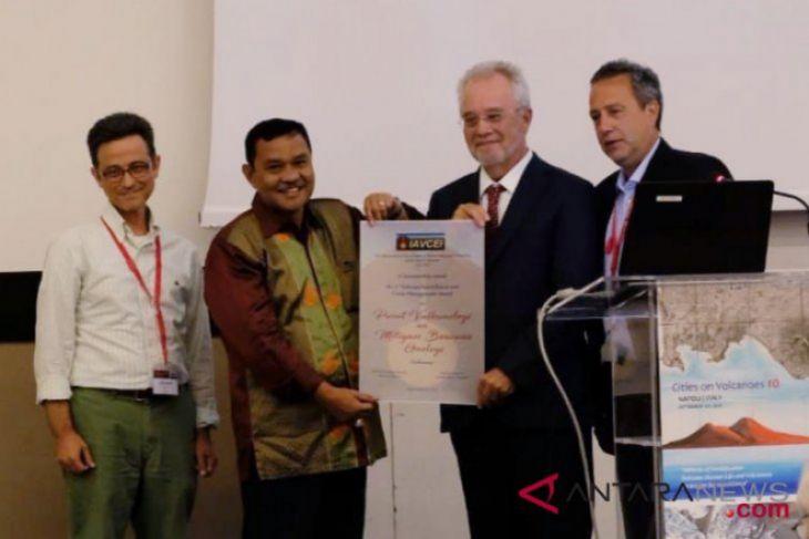 Pusat Vulkanologi kementerian ESDM raih penghargaan internasional