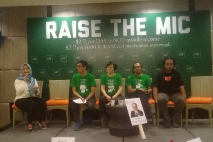 AHF minta Bank Dunia hentikan klasifikasi MIC