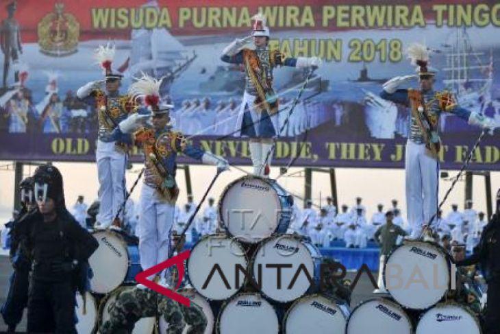 Foto- Wisuda Purnawira Perwira Tinggi TNI AL