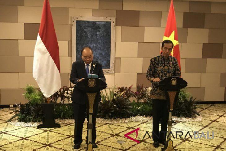 Presiden Jokowi gelar pertemuan bilateral dengan PM Vietnam
