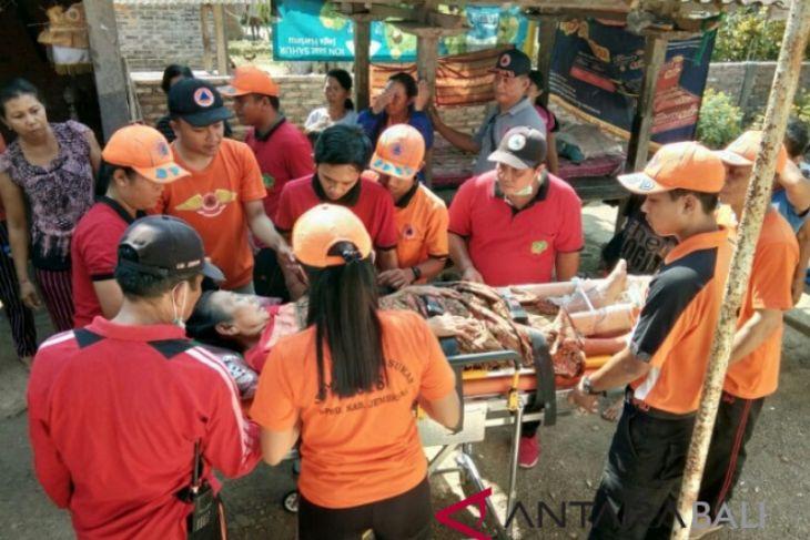 BPBD Jembrana bawa korban gempa ke RSU