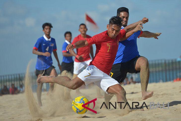 Indonesia imbangi Malaysia sepak bola pantai AFF