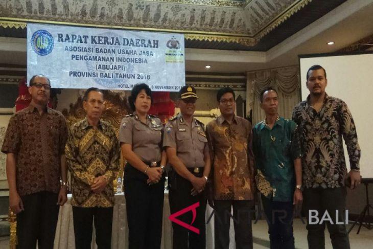 Abujabi Bali dorong Satpam bersertifikat kualifikasi