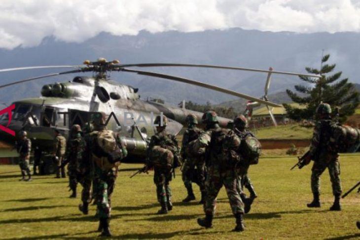 15 jenasah korban penembakan  dievakuasi ke Timika