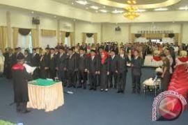 Sebanyak 50 Anggota DPRD Lebak Dilantik