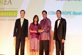 Combiphar Raih Penghargaan CSR Tingkat Internasional