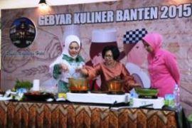 PKK Provinsi Lestarikan Makanan Khas Banten Lewat Gebyar Kuliner 2015