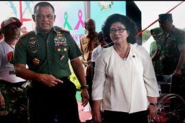 Panglima Dan Menkes Hadiri Baksos TNI