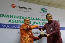 Bank Banten gandeng Wanaartha Life perlindungan jiwa nasabah