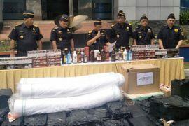 Kantor BC Wilayah Banten Amankan Rp17 Miliar