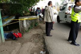 Jenasah Ditemukan Di Sungai Sasak Pamulang