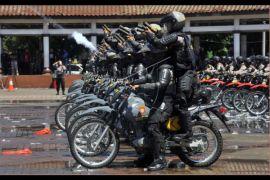 Polda Banten Gelar Simulasi Pengamanan Pilkada Serentak