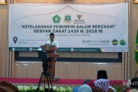 Gubernur Minta Baznas Optimalkan Potensi Zakat Penduduk Banten