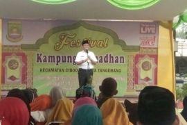 Ribuan Warga Cibodas Ikuti Festival Kampung Ramadhan