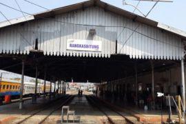 Stasiun Rangkasbitung Siagakan TNI Dan Polri