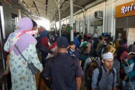 Arus Mudik - Pemudik Stasiun Rangkasbitung H-2 31.000 Penumppang