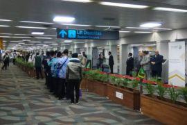 HAJI - Bandara Soetta Siapkan Loket Keimigrasian Calon Haji
