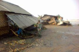 Gelombang Tinggi Masih Terjadi Di Pesisir Kabupaten Lebak