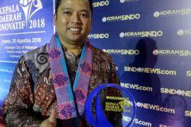 Arief Raih Penghargaan Kepala Daerah Inovatif  2018
