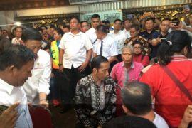 Presiden Jokowi Pantau Posko Bandara Soekarno-Hatta