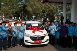 BPJS Ketenagakerjaan Hadiahi Pemkab Serang Mobil Avanza