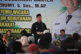 Wagub Banten Minta Kelestarian Hutan Dijaga