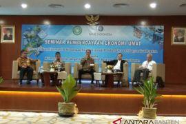 MUI Banten Ajak Umat Muslim Jalankan  Ekonomi  Syariah