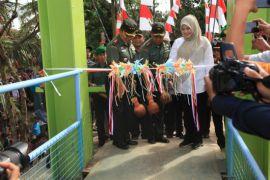 Peresmian jembatan gantung Pasir Eurih, Pandeglang