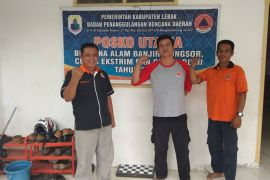 BPBD Lebak Cata 17 Kecamatan Rawan Banjir