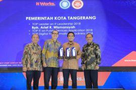Pemkot Tangerang Raih Empat Penghargaan Terkait Pemanfaatkan Teknologi