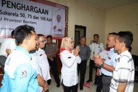 PMI Banten  Minta  UDD Buka  Di Tempat Umum