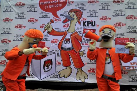 Pilkada 2018 - KPU Lebak Dorong Pemilih Pemula
